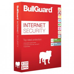 BullGuard Internet Security + 5GB Backup 3PC 1jaar