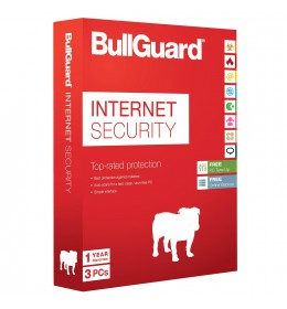 BullGuard Internet Security 3apparaten 1jaar