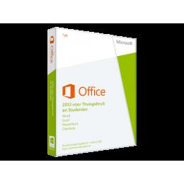 Microsoft: Microsoft Office 2013 Thuisgebruik & Student 1PC