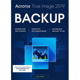 Acronis True Image 2019 3PC/MAC