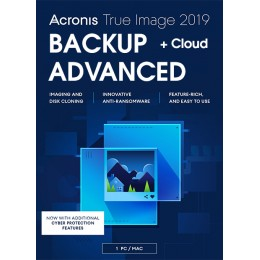 Acronis True Image Advanced 1Apparaat 1Jaar