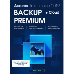 Acronis True Image Premium 3Apparaten 1Jaar