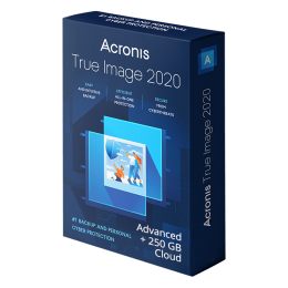 Cloud Backup: Acronis True Image Advanced 2020 1Apparaat 1Jaar
