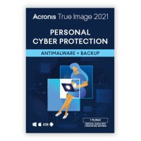 Cloud Backup: Acronis True Image Premium 2021 3Device 1Year