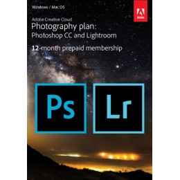 Photo editing: Adobe Photography Plan Creative Cloud 1 Gebruiker 1Jaar 20GB cloudopslag