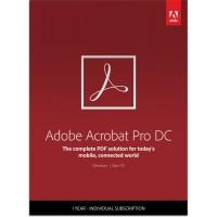 PDF-verwerking: Adobe Acrobat Professional DC Multi-Language 1Gebruiker 1Jaar