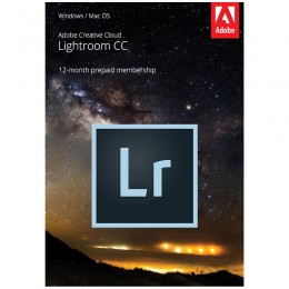 Photo editing: Adobe Lightroom Creative Cloud Multi-Language 1 Gebruiker 1Jaar 1TB cloudopslag