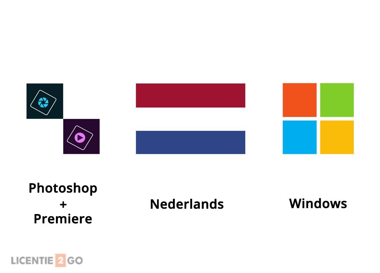 Photoshop + Premiere Nederlands Windows