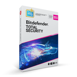 Bitdefender Total Security Multi-Device 2019 5-Devices 1year