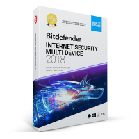 Bitdefender Internet Security 10PC 1jaar