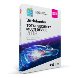 Bitdefender Total Security Multi-Device 3-Devices 1jaar