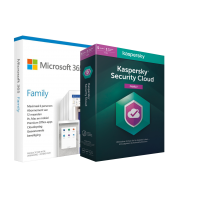 Microsoft 365 Family + Kasperky Cloud Protection | 6 Users|