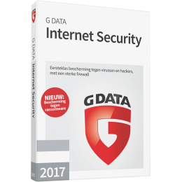 G Data Internet Security 3PC 1jaar