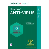 Kaspersky Anti-virus 1PC 1jaar