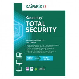 Kaspersky Total Security 3PC 1jaar