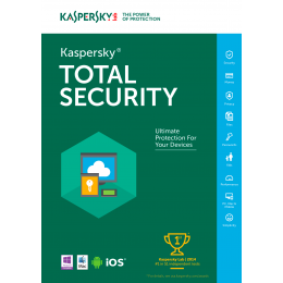 Kaspersky Total Security Multi-Device 3-Devices 1jaar
