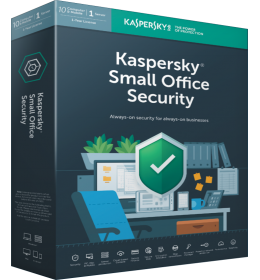 Kaspersky Small Office Security 10PC+10Smartphones+1FS 1jaar