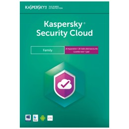 Mobile Security: Kaspersky Security Cloud Family - 20Apparaten 1Jaar