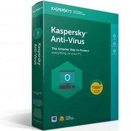 Kaspersky Anti-virus 1PC 1jaar