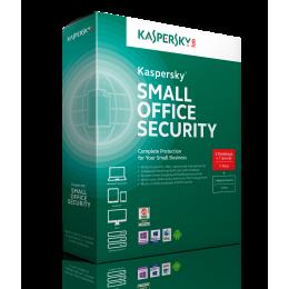 Zakelijk: Kaspersky Small Office Security 5PC+1FS 1jaar