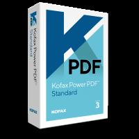 PDF-verwerking: Kofax Power PDF Standard 3.0 1PC Windows