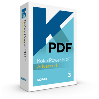 PDF processing(and OCR): Kofax Power PDF Advanced 1PC Windows