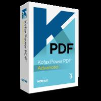 PDF-Verarbeitung (und OCR): Kofax Power PDF Advanced 1PC Windows