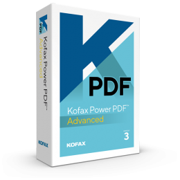 PDF processing(and OCR): Kofax Power PDF Advanced 1PC Windows