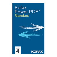 PDF processing(and OCR): Kofax Power PDF Advanced 4.0 1PC Windows