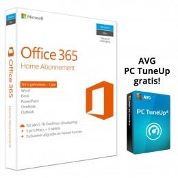 Microsoft: Microsoft Office 365 Home 5PC 1Jaar