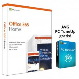Office 365: Microsoft Office 365 Home 6Gebruikers 1jaar