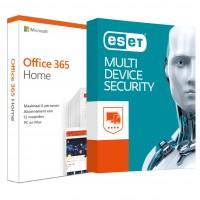 Voordeelbundel: Office 365 Home + ESET Internet Security Multi Device 5 apparaten 1 jaar