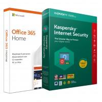 Voordeelbundel: Office 365 Personal + Kaspersky Internet Security 5 apparaten 1 jaar