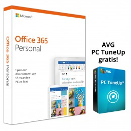 Office 365: Microsoft Office 365 Personal 1PC 1Jaar