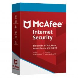 Internet Security: McAfee Internet Security 2018 Onbeperkt 1jaar