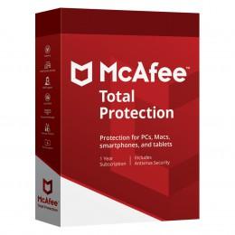Totaalbeveiliging: McAfee Total Protection 10 apparaten 1jaar