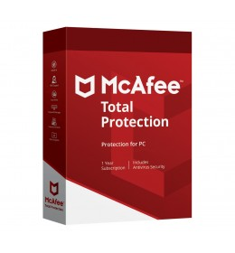 McAfee Total Protection 3PC 1jaar - Windows