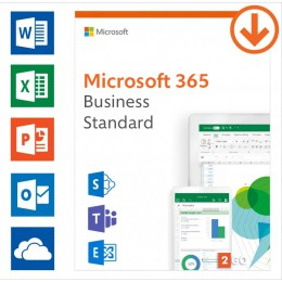 Office 365: Microsoft 365 Business Standard | Annual subscription | 1User | 15 Devices