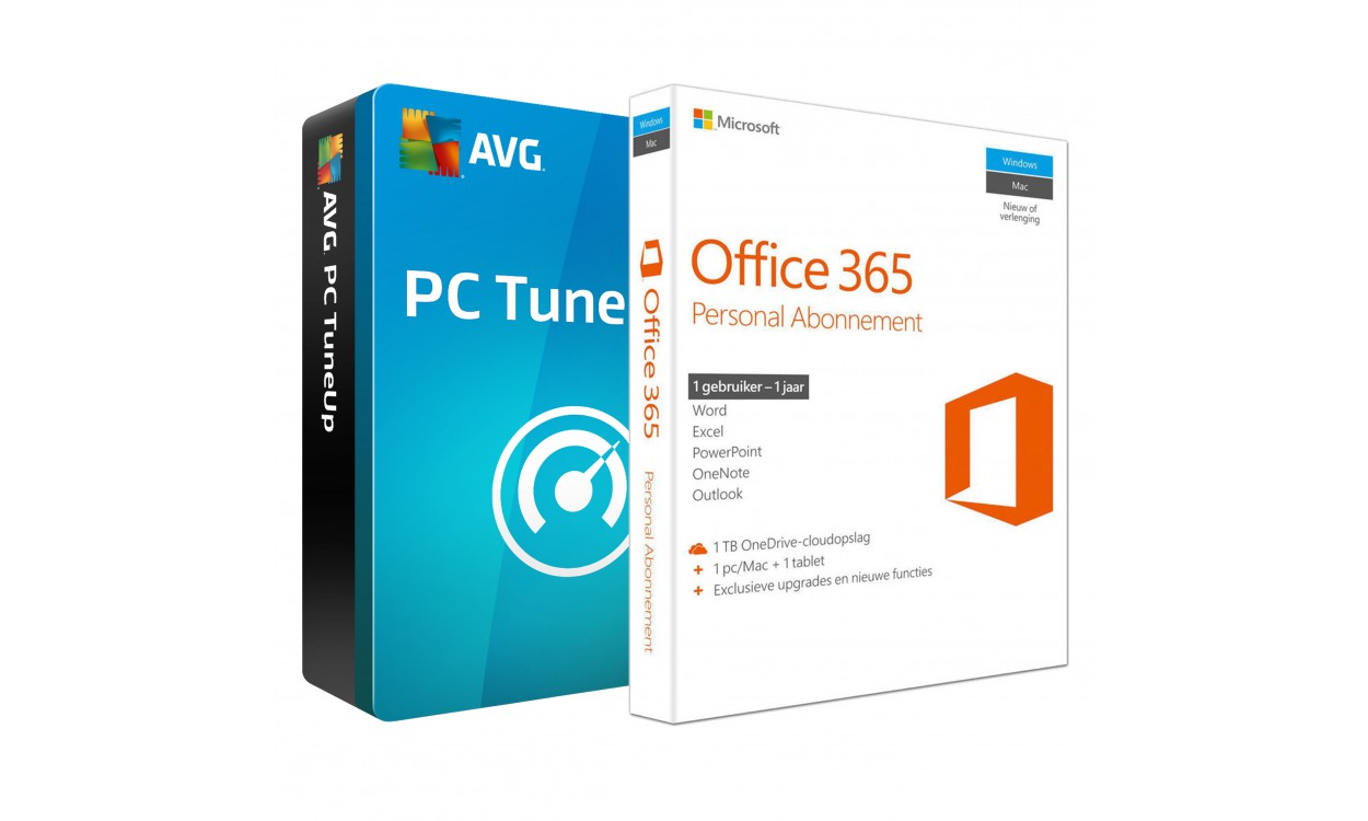 Microsoft Office 365 Personal 1PC 1Jaar