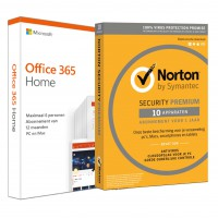 Office for home use: Voordeelbundel: Office 365 Home 5-devices + Norton Premium 10-devices