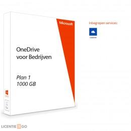 Office voor bedrijven: OneDrive voor Bedrijven - 1TB