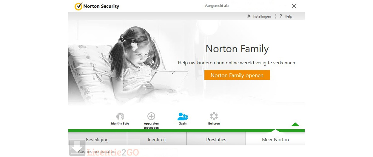 Norton Security Deluxe 5-Apparaten 1jaar 2019 (bezorging)