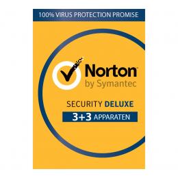 Norton Security Deluxe: Norton Security Deluxe 6-Apparaten 1jaar 2020 - Antivirus inbegrepen - Windows | Mac | Android | iOS