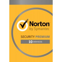 Antivirus: Norton Security Premium 2020 - 10-Devices + 25GB Backup 1year