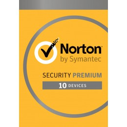 Security: Norton Security Premium 2020 - 10-Devices + 25GB Backup 1year