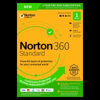 Norton 360: Norton 360 Standaard | 1Device - 1Year | Windows - Mac - Android - iOS | 10Gb Cloud Storage
