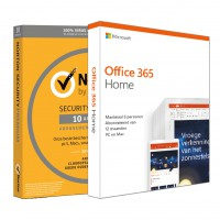 Voordeelbundel: Norton Security Premium 10-apparaten + Office 365 Home 5-apparaten