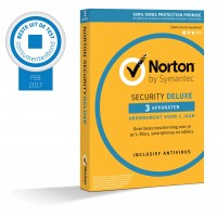 Norton Security Deluxe 3-Apparaten 1jaar