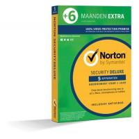 Norton Security Deluxe 5-Apparaten 1,5jaar