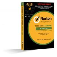 Norton Security Standaard + WiFi Privacy 1-Apparaat 1jaar